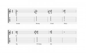 Open String Voicings A-Typ