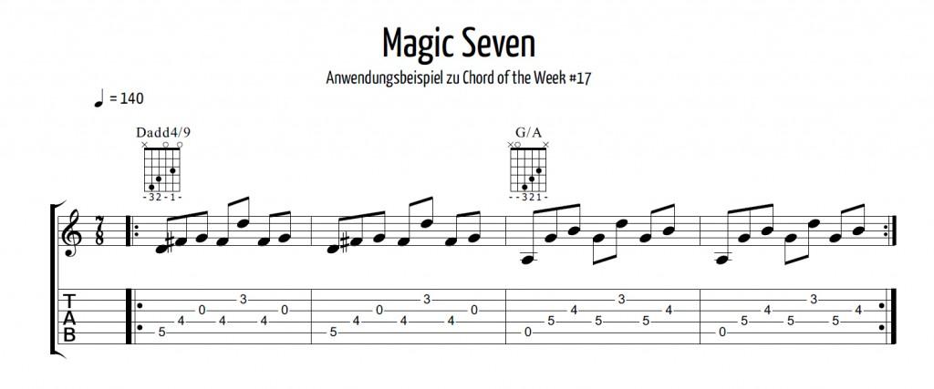 magic seven cotw 17